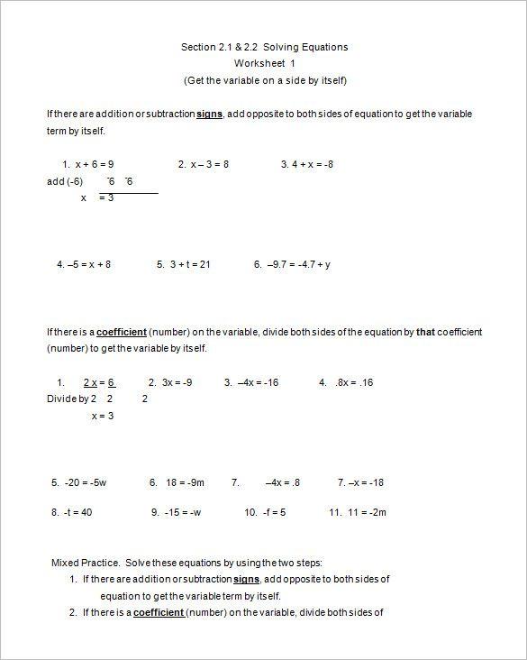 College Algebra Math Worksheets Algebra Worksheets College Algebra Math Worksheets