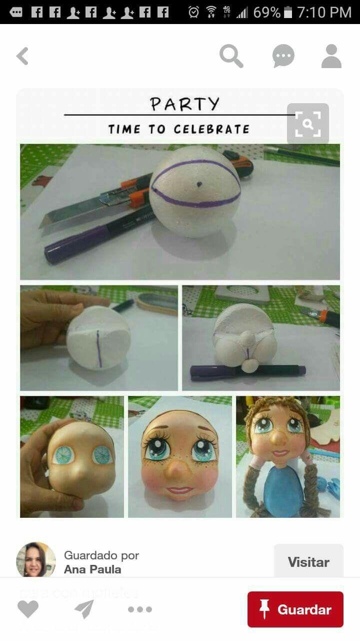 Como tallar caras
