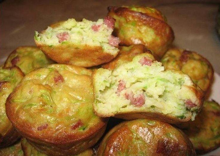 Кексы из кабачков рецепт с фото