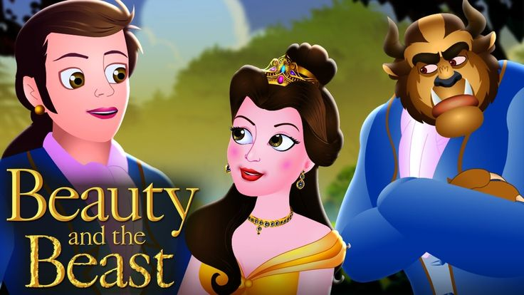Beauty and the Beast   Fairy Tales For Children(2016-2017)HD   Best Stor...