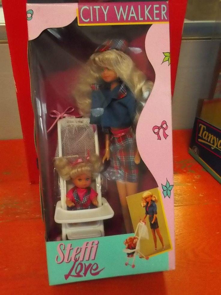 Bambola Vintage Steffi Love City Walker Simba Toys Nuova in Scatola | eBay