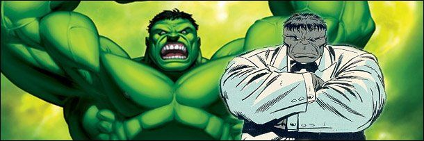 "The Worst Secret Identities: The Hulk had a secret identity - not Bruce Banner, that's a whole different being. The giant, hulking (hence the name), occasionally gray colored monster went incognito and worked as a Vegas bouncer. He called himself Joe Fixit, because he ""fixed"" problems. Presumably punch-based problems."