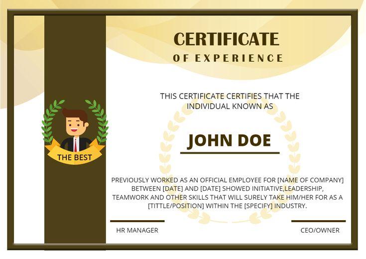 certificate photoadking unique template