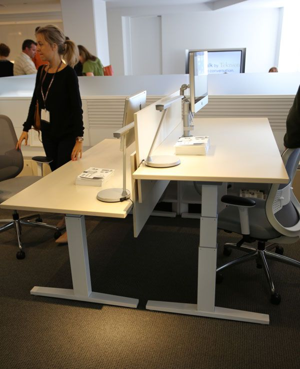 Teknion Variable Height Desk