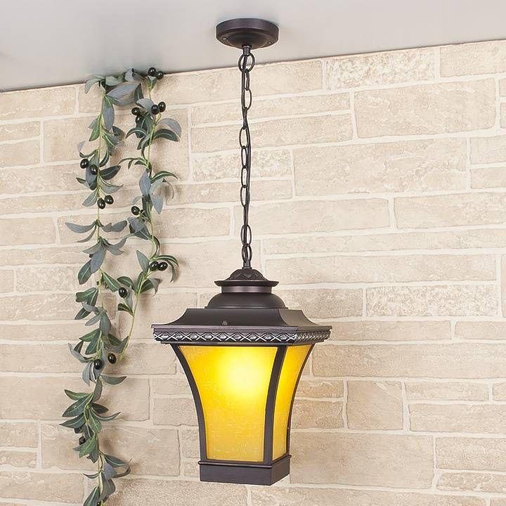Уличный подвесной светильник Elektrostandard Libra H венге 4690389064760 — купить в интернет-магазине ВамСвет