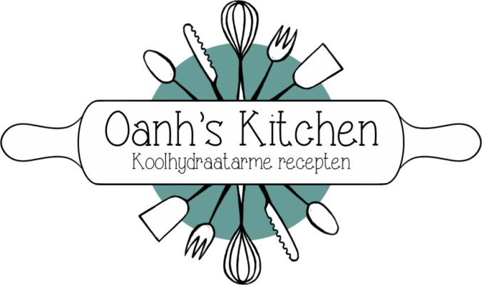 Oanh's Kitchen. Kaaskoekjes van amandelmeel, gebroken lijnzaad, griekse yogurth, ei en boter