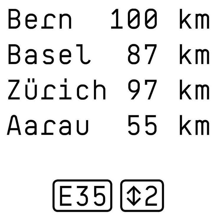 BB Roller Mono TX #typeface #new #style #soon #autobahn #highway #panel #switzerland #bern #basel #zurich #konstanz #signboard #roadsign #typedesign #typewriter #font #specimen #boldstudio #typefoundry #lettering #blackandwhite #signage