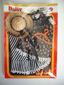 Mary Quant Daisy Doll Heyday 65156 Complete Orange Yellow Fabric Variant Set | eBay