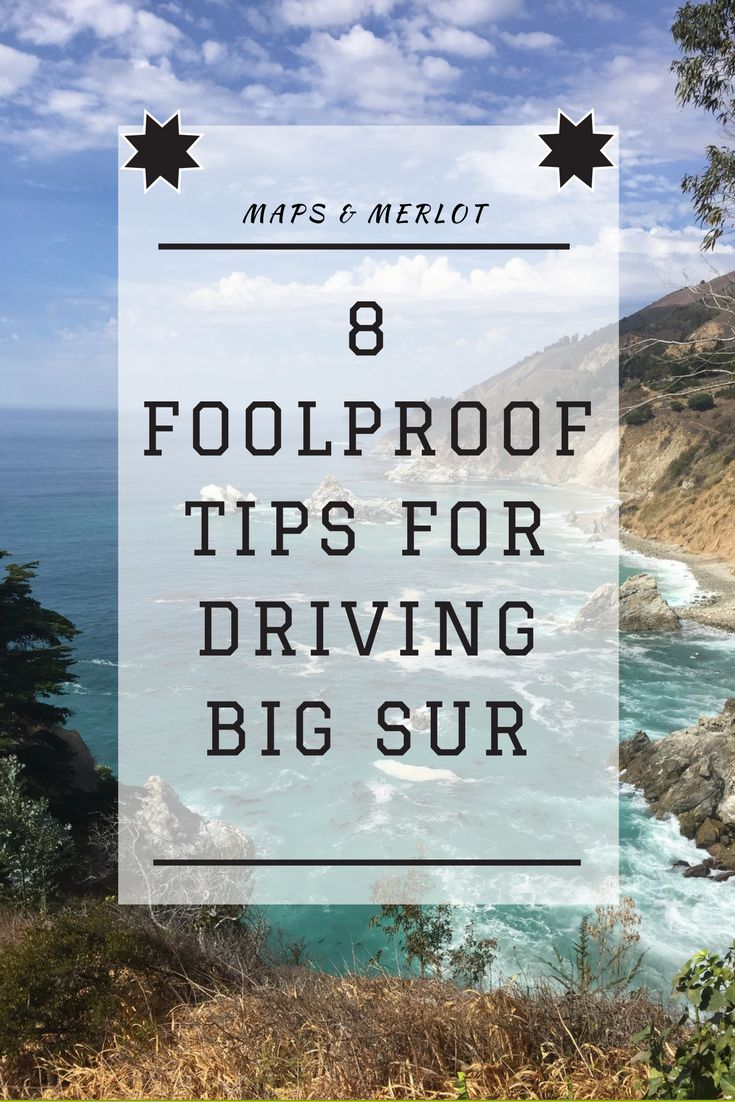 Discover what NOT to do on your California road trip. Top 8 tips for driving Big Sur!