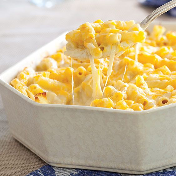 This classic Macaroni and Cheese is a cheesy delight withmozzarella, Monterey Jack, andsmoked provolone cheese. Save Recipe Print Macaroni and Cheese