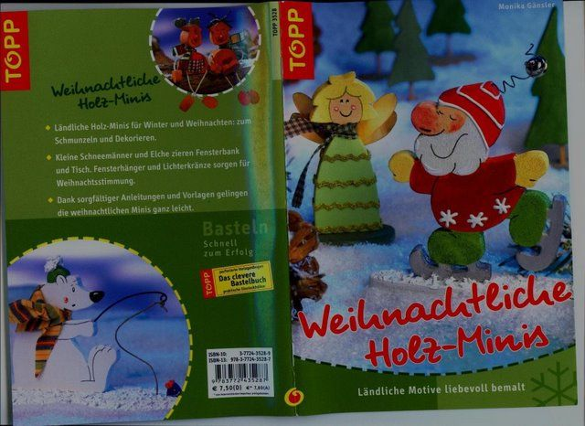 Weihnachtliche Holz-Minis - Muscaria Amanita - Álbuns Web Picasa