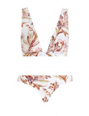 Oleander Wide Tri Bikini