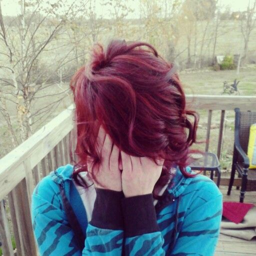 86 best hair images on pinterest hairstyles makeup and activities new hair color bright red highlights and dark red lowlights pmusecretfo Choice Image