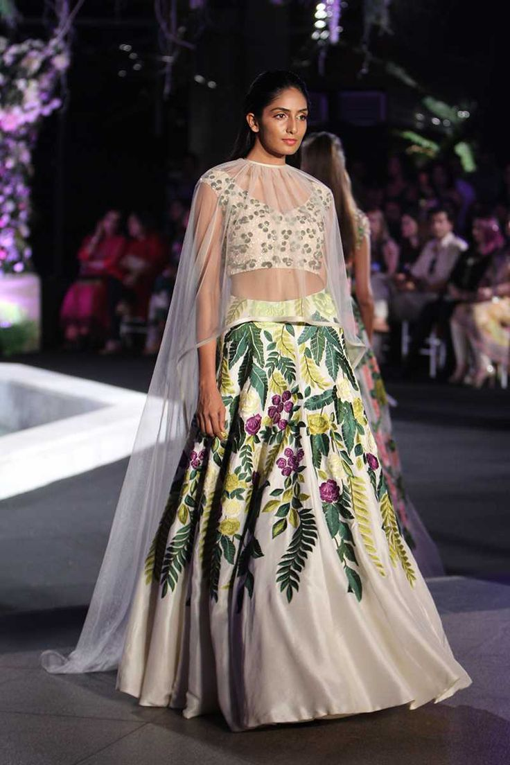 Indian bridal lehenga by Manish Malhotra
