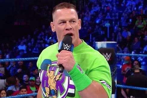John Cena used his free agent status and returned to WWE's blue brand Tuesday on Smackdown Live where he looked for a way toward…