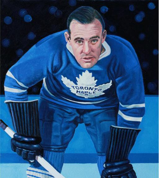 King Clancy, Toronto Maple Leafs by Tony Harris