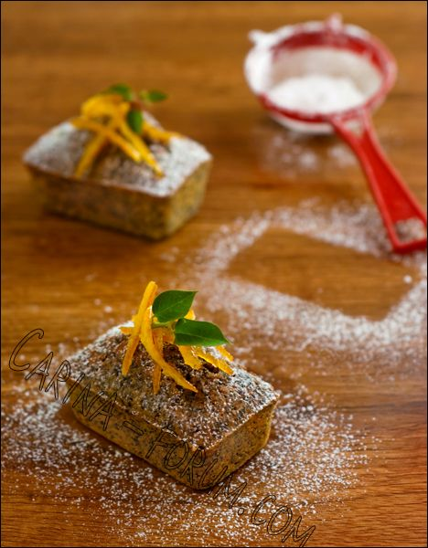 Orange and Poppy Seed Friands - might try with limes and pistachio too