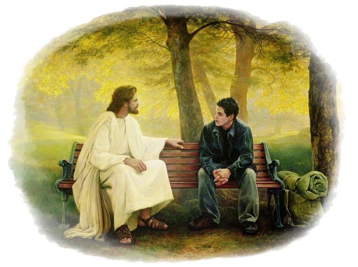 O convorbire între omul rugător şi Dumnezeu   Omul - Tatăl nostru care eşti în ceruri... Dumnezeu - Da! Spune-mi despre ce este vorba? Omul - Sfinţească-se numele Tău... Dumnezeu - Zici aceasta în mod serios? Omul - Ce să spun în mod serios? Dumnezeu - Că vrei să sfinţeşti numele Meu. Ştii tu ce înseamnă asta? Omul - Înseamnă, înseamnă... of,