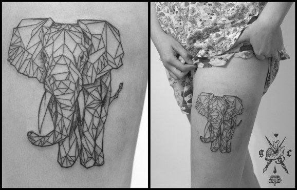 Guadalupe Carlota - GC Tattoo – Mexico City, Mexique