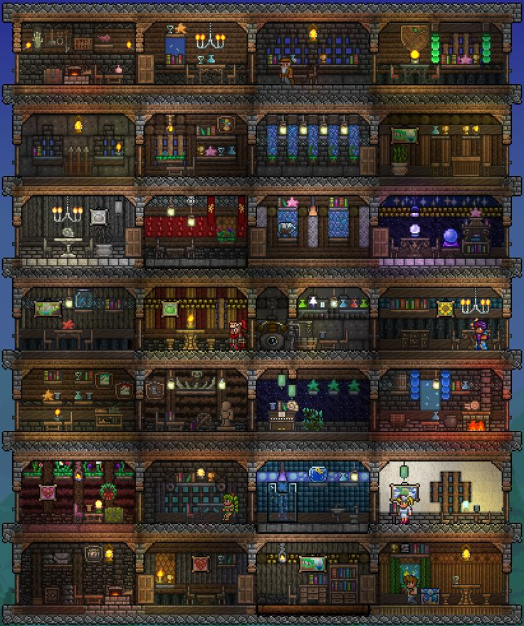 How To Make Rooms In Terraria