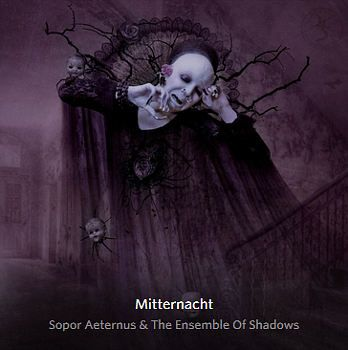 Sopor Aeternus & The Ensemble Of Shadows released their new album Mitternacht. And again this is just another masterpiece with 14 stunning songs of 68 minutes.