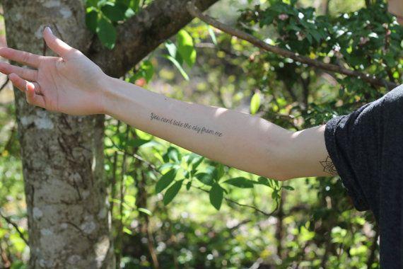 Tatouage temporaire de luciole par mossandferndesignco sur Etsy