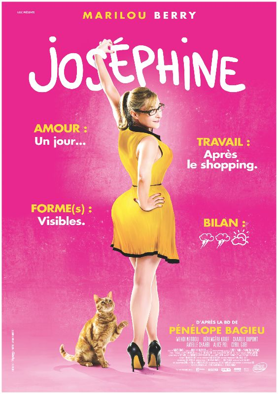 Josephine (2013) ✭✭✭½ Above average French rom-com. Marilou Berry was the chubby, depressed kid in Jaoui's Look at Me (2004). She's all growed up.