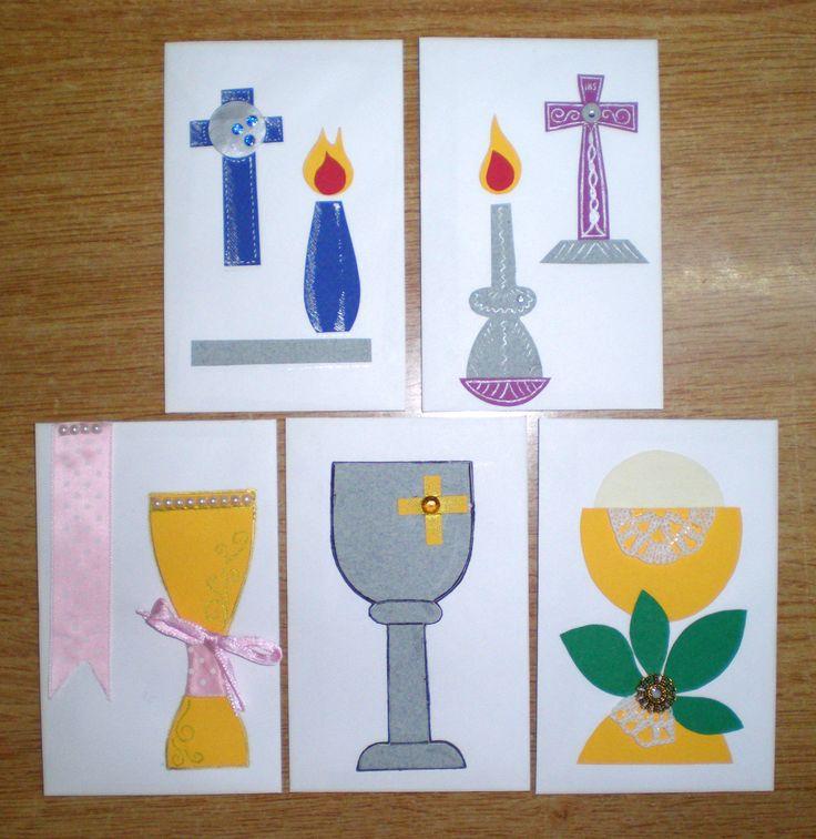 Handmade religious cards