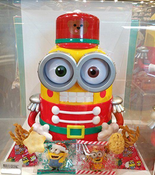 USJ 限定 商品 【 クリスマス ミニオン ボブのおもちゃの兵隊 お菓子BOX 】 MINION MAYHEM CHRISTMAS グッズ ミニオンズ
