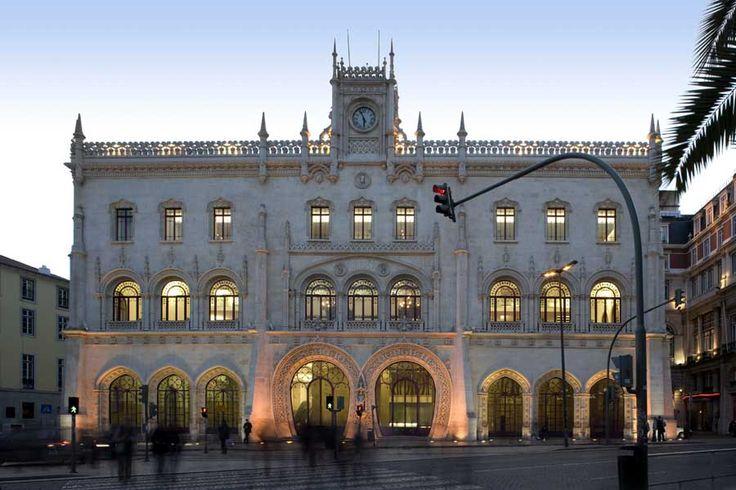Rossio Station Lisbon.
