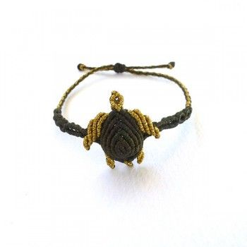 "Sea turtle jewelry-""Mystify Macrame"" Bracelet  14.00€  Μacrame bracelet from Cyprus.  Handmade macrame bracelet made of waxed polyester."
