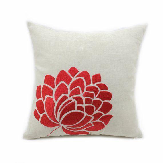 Plain Cushion cover Jet BLACK Linen designer fabric scatter pillow case