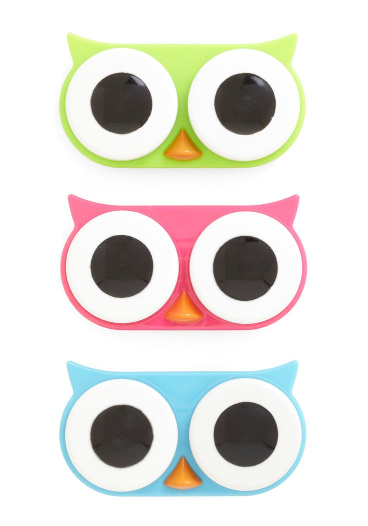 MUST.HAVE: Gifts Ideas, Contact Cases, Whoo Contact, Contact Lens Cases, Mod Retro, Stockings Stuffers, Owl Contact, Vintage Keychains, Retro Vintage