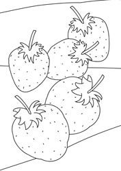 51 Best Images About Fruit Kleurplaten On Pinterest