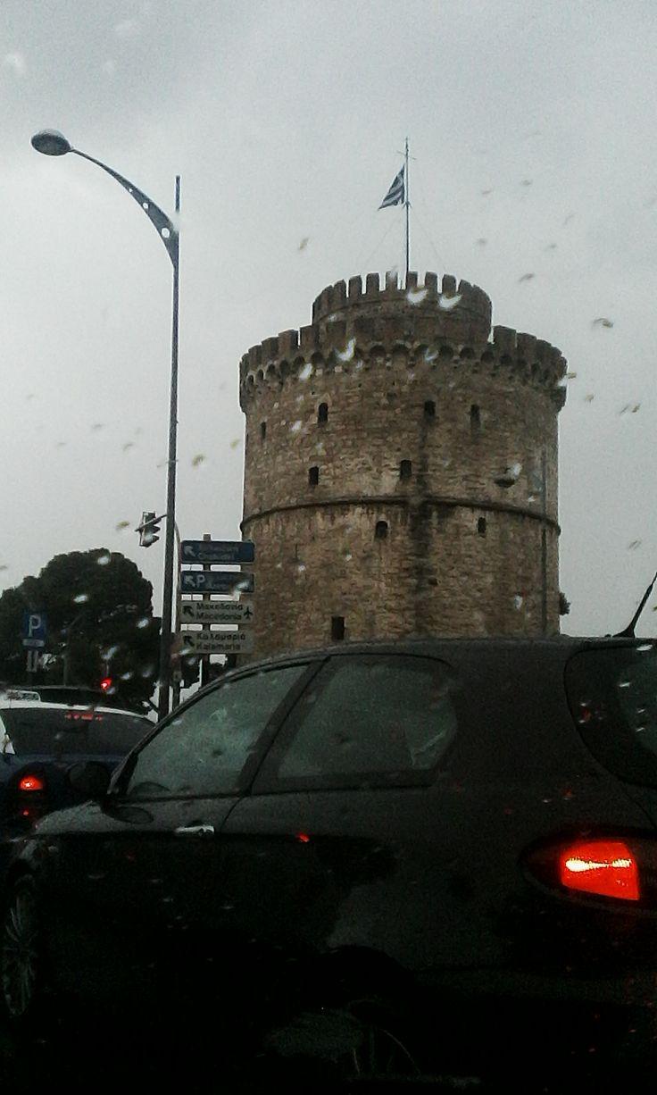 Βροχερή... Συννεφιασμένη... Μα πάντα ξεχωριστή η Σαλονίκη μας...