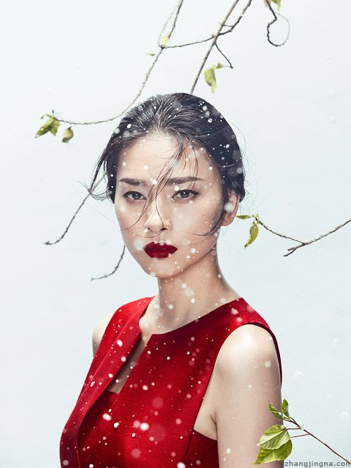 Happy Lunar New Year everyone! Have a great year of the goat and enjoy all the fooding times!! See hi-res on my website: www.zhangjingna.com/advertisin… Phuong My Holiday Collection Photogra...