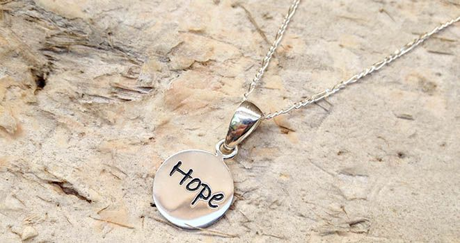 Poetic Pendant - Hope. Find it at www.giftedmemoriesjewellery.com.au
