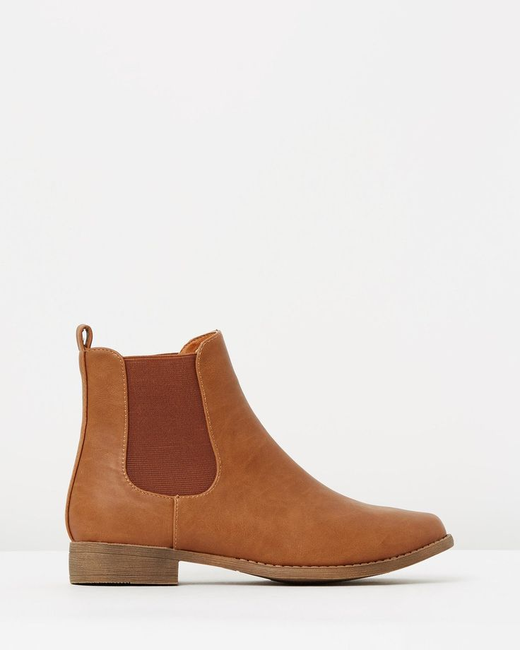Callie Gusset Ankle Boots