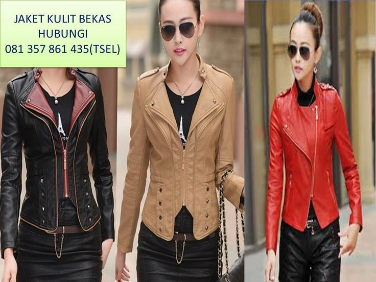 24 Best Model Jaket Kulit Wanita Images On Pinterest