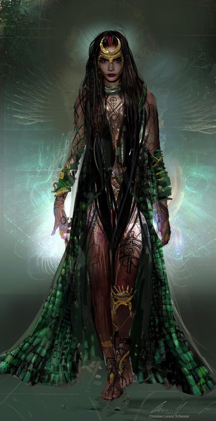 #SuicideSquad Concept art for #Enchantress