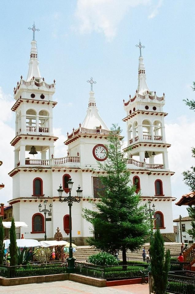 Church in Mazamitla in Mexico. Mexico itineraries and travel tips with www.Triphobo.com