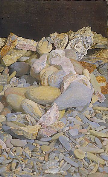 'Sleeping Beach' (1974) by Antoni Pitxot