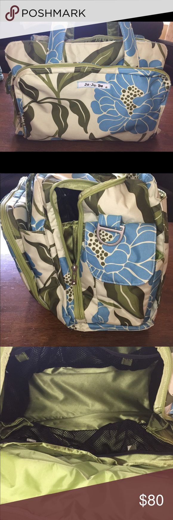 Jujube Be Prepared Diaper Bag Never carried. It was packed and used as my car emergency diaper bag. Super clean inside and out. JuJuBe Bags Baby Bags