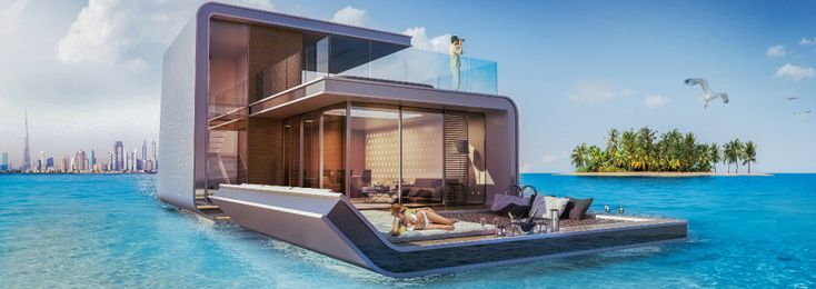 Dream Homes in Dubai. The heart of Europe Project.