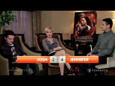 Best Josh Hutcherson and Jennifer Lawrence interview EVER!!!