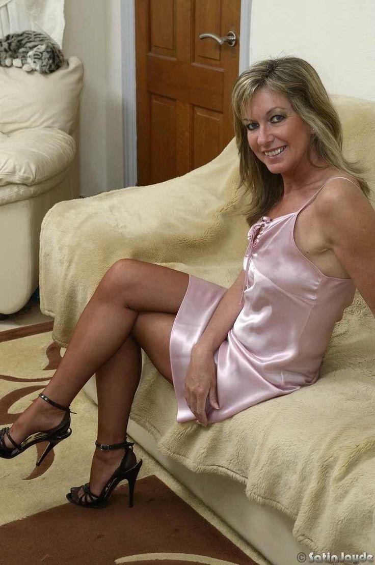 Mature Women In Satin Slips 35