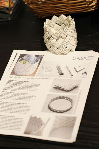 Handi-hour crafting with old books