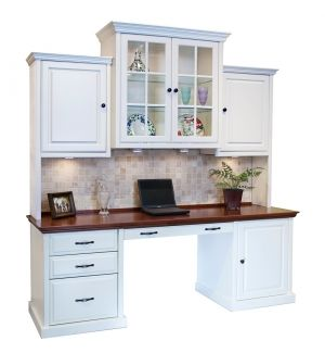 Design Your Own Home Office Desk & Hutch by Arthur Brown