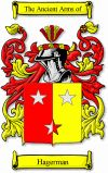 This German, Frisian, Flemish, Dutch, Danish, Swedish and Dutch surname of HAGERMAN was originally derived from any of various places in Nor...