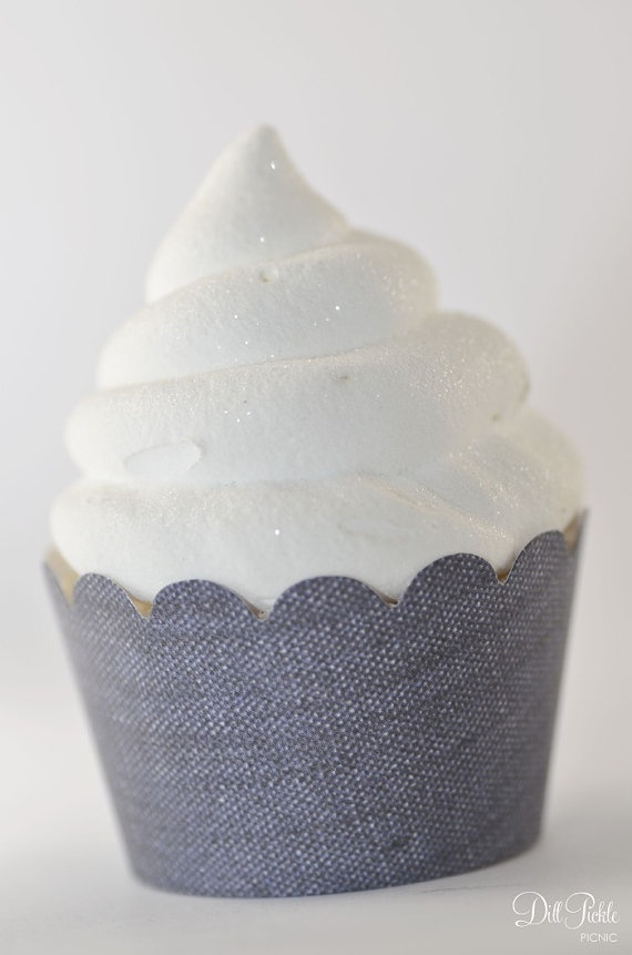 denim cupcake liners bandana cupcake wrappers 36 farm